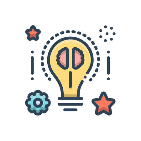 Icon for smart ideas Ilustração