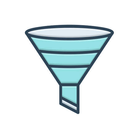 Icon for filtering,funnel