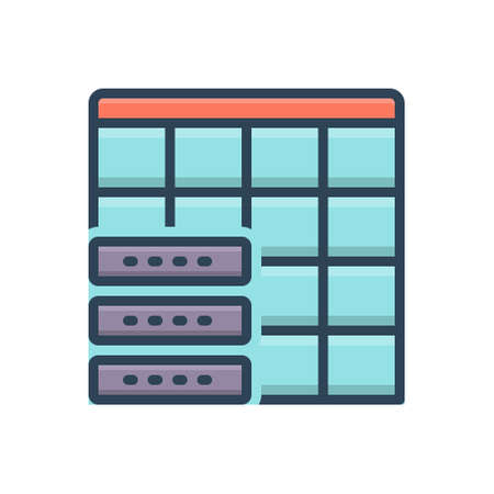 Icon for datatable,table