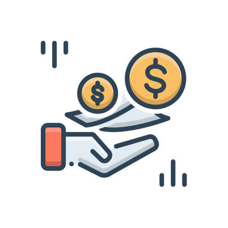 Icon for fees,charges