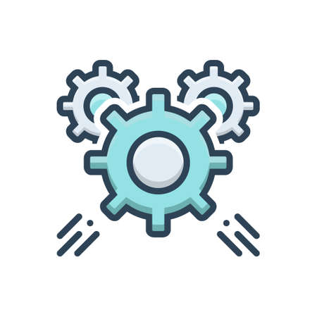Icon for gear,mechanism
