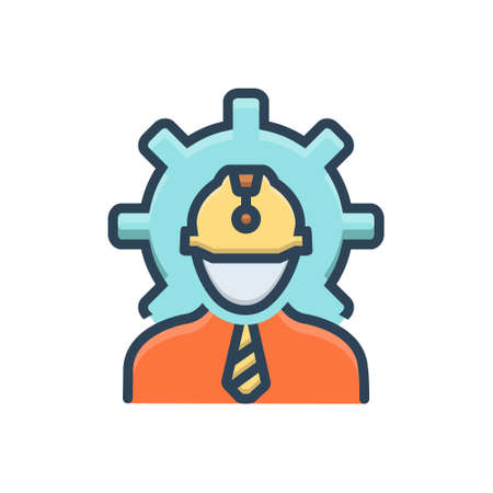 Icon for engineer,architecture