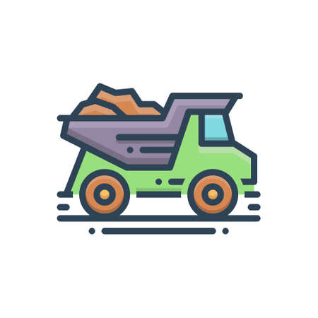 Icon for dump,truck