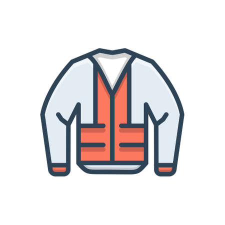 Icon for construction,jacket