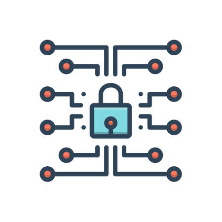Icon for network,protection