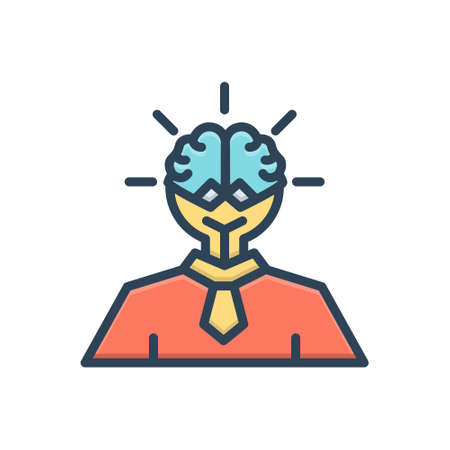 Icon for smart ideas Ilustracja