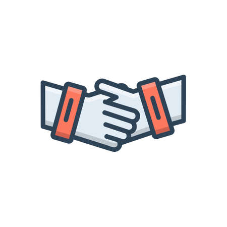 Icon for partnership collaboration