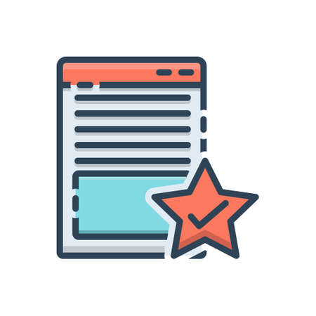 Icon for page quality