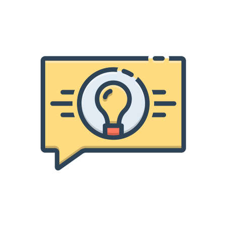 Icon for strategic consultancy Ilustracja