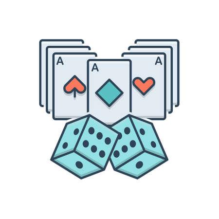 Icon for casino card entertainment