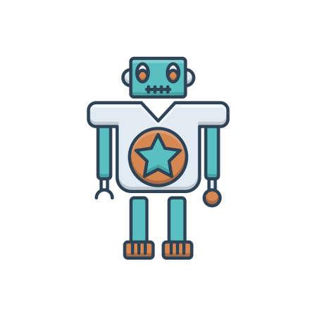 Icon for toy machine toy Ilustracja