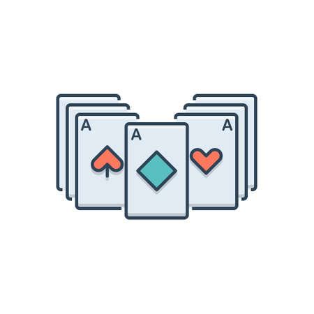 Icon for blackjack playing cards