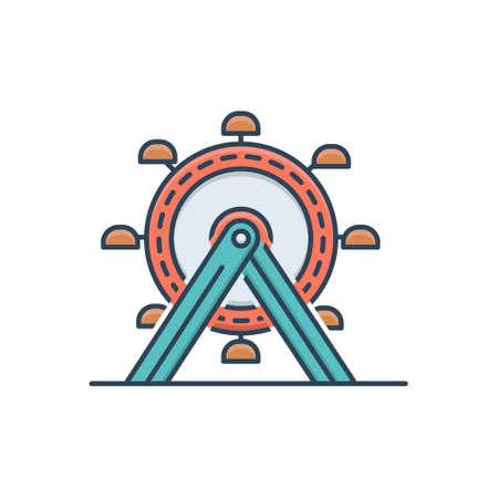 Icon for ferris wheel