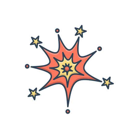 Icon for firework celebration