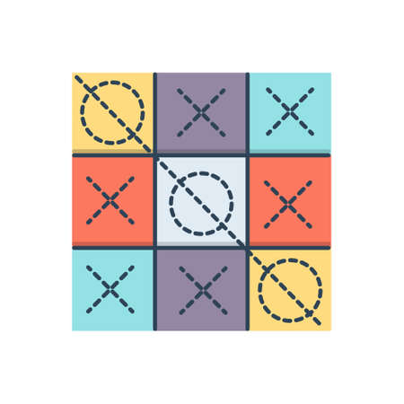 Icon for tic tac toe  competition