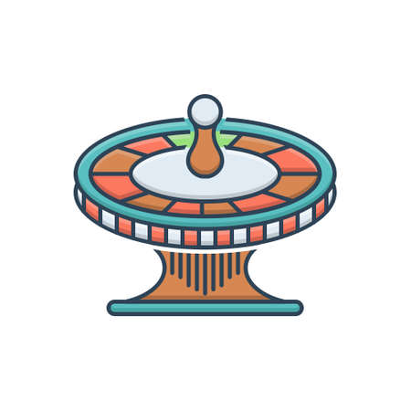 Icon for roulette casino
