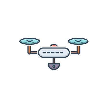Icon for drone camera