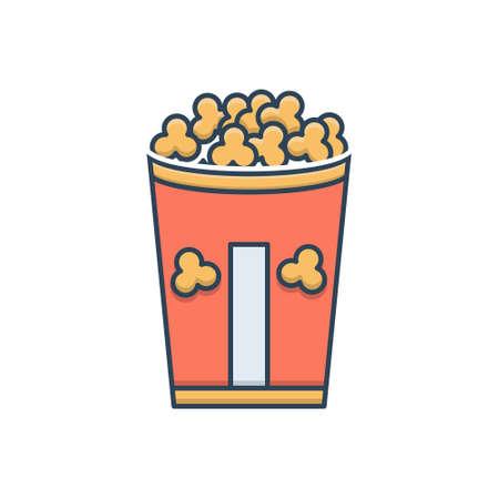 Icon for popcorn