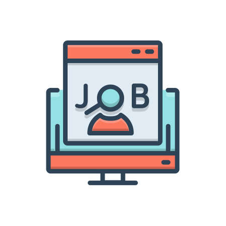 Icon for jobs search