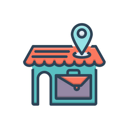 Icon for local business