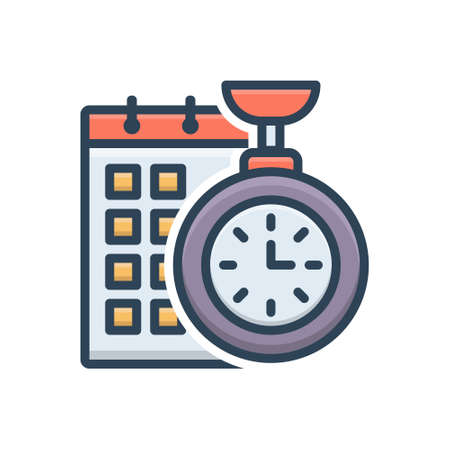 Icon for time planning