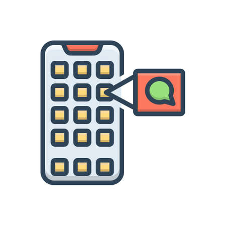 Icon for mobile application