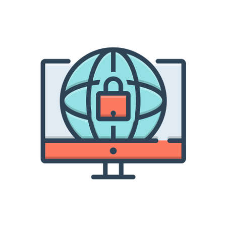 Icon for web security