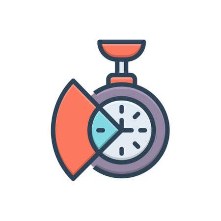 Icon for time saving Zdjęcie Seryjne