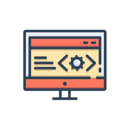 Icon for web doveloper
