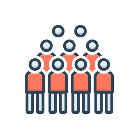 Icon for concourse,crowd