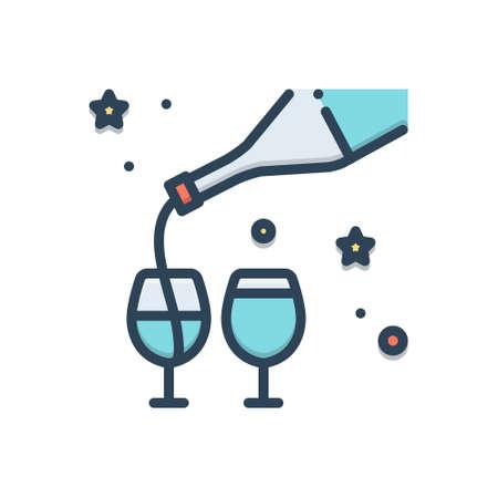 Icon for freeflow,bottle 向量圖像