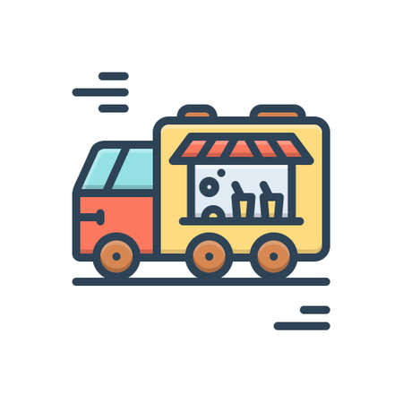 Icon for food truck,restaurant