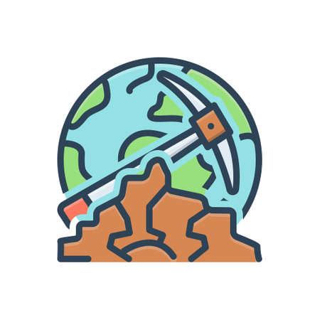 Icon for geological,geologist