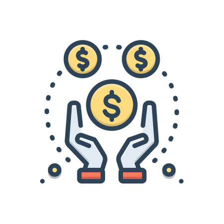 Icon for funded,investments