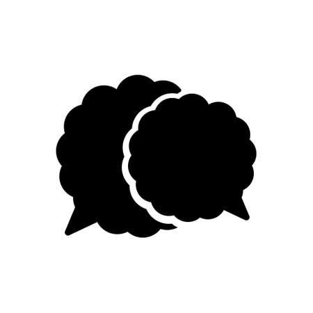 Icon for speech bubble,talk,oration