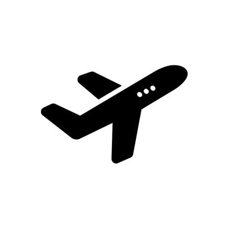 Icon for airplane,aircraft
