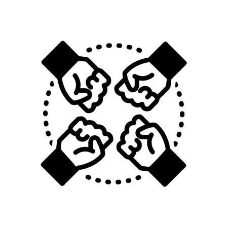 Icon for team,squad,tandem 向量圖像