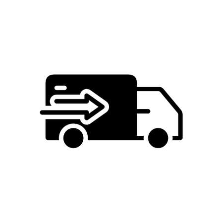 Icon for delivery truck,delivery,truck 向量圖像