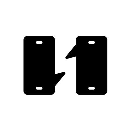 Icon for conversation,observation