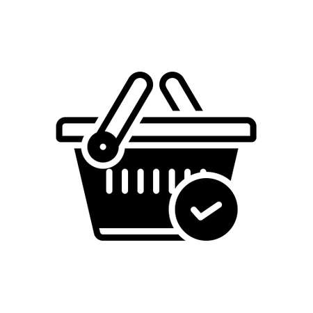 Icon for checked,merchandise