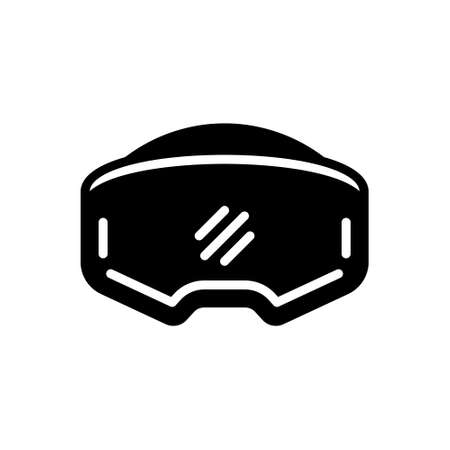 Icon for virtual reality headset,digital,electronic