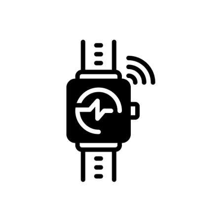 Icon for wearable tracker,wearable,tracker
