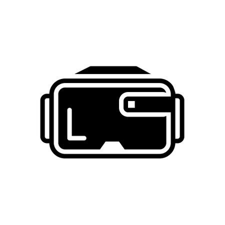 Icon for virtual glasses,virtual,glasses 向量圖像