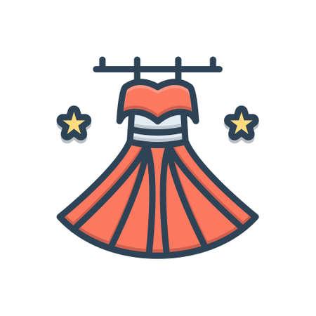 Icon for dress,costume Vecteurs