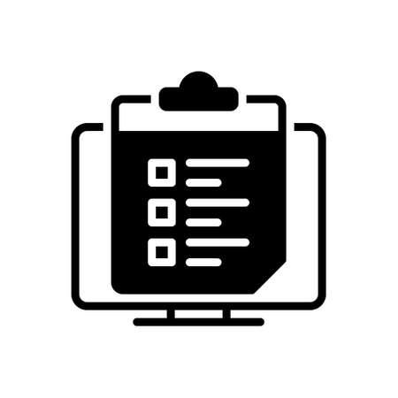 Icon for survey list ,survey