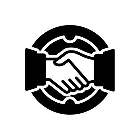 Icon for deal ,agreement Banque d'images
