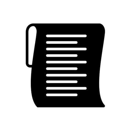 Icon for list, clipboard Banque d'images