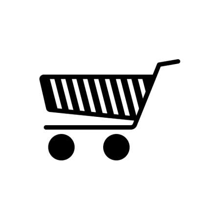 Icon for shopping cart, shopping