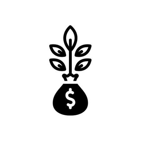 Icon for money plant,money