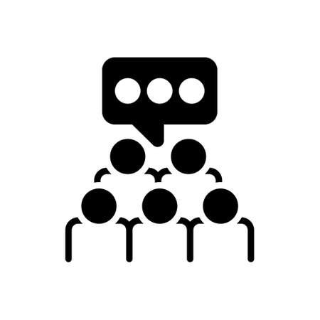 Icon for focus group,focus,group,survey